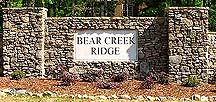 Bear Creek Ridge, Chelsea, Alabama